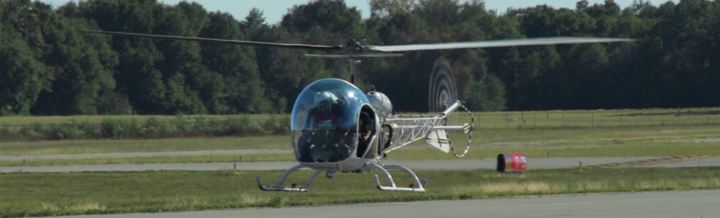 Bell 47 G-2 Hovering